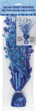 Blue Glitz Balloon Weight Table Centrepiece